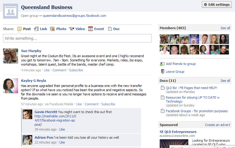 Facebook Profiles, Pages and Groups – Zestee