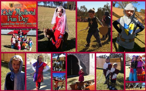 Kids Medieval Day 1