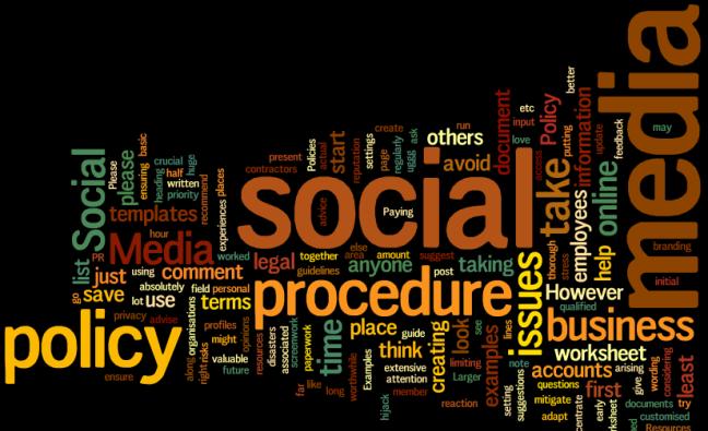 Social Media Policy Procedure