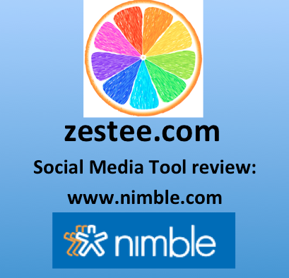 Zestee Social Media Tool Review: Nimble