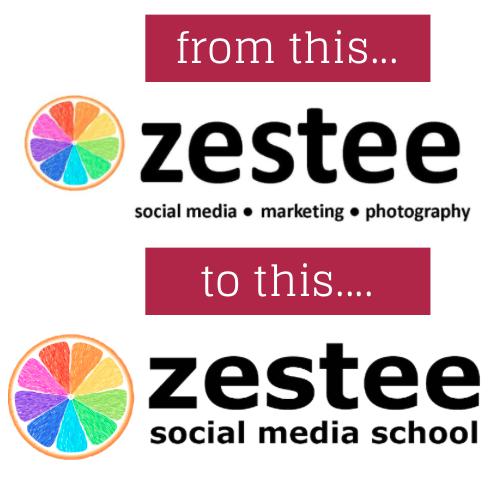 zestee rebrand