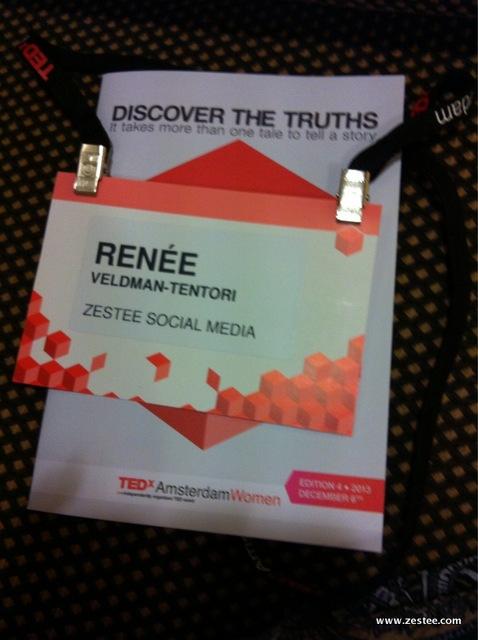Renee TEDxAmsWomen