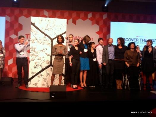 TEDx Amsterdam Women volunteers