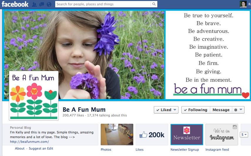 be a fun mum