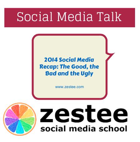 2014 Social Media recap