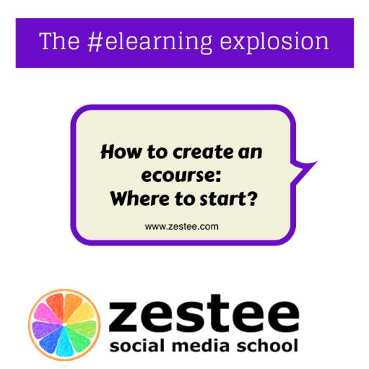 How to create an ecourse